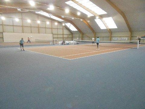 Photo prise lors des 24 heures de tennis