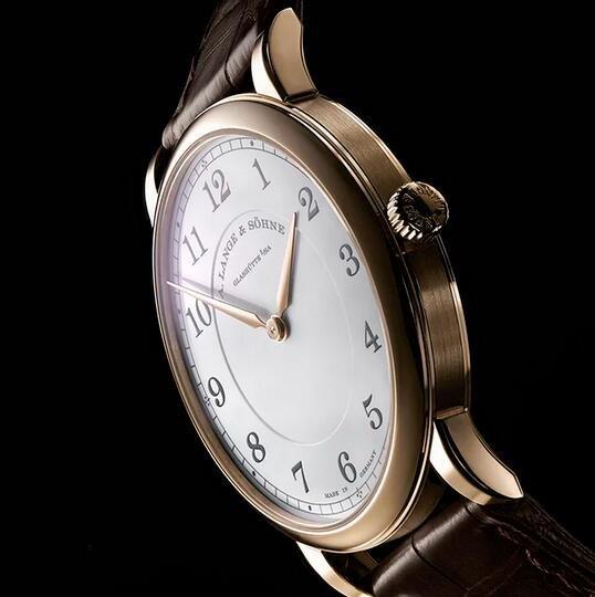 Replik Uhren A. Lange & Söhne 1815 Dünne 18 Karat Honeygold 38mm 239.050 Limitierte Auflage