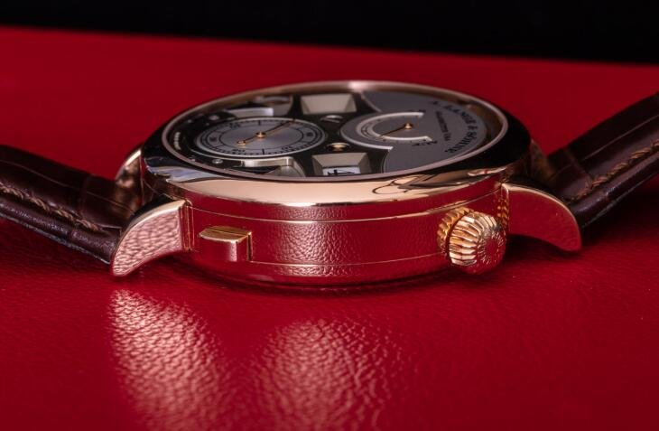 Replik Uhren A. Lange & Söhne Zeitwerk Schlagzeit 18 Karat Rotgold 145.032 Bewertung 3
