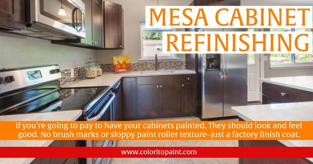 Mesa Cabinet Refinishing