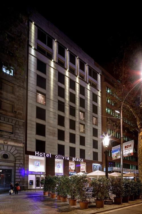 מלונות מומלצים בברצלונה ספרד, Olivia Plaza