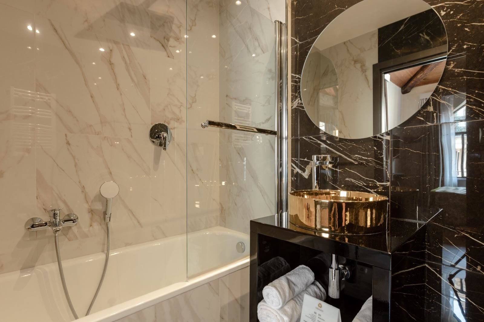 מלון NEMAN Maison Experience - מקלחת מפנקת