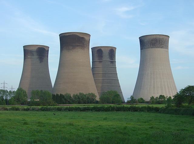 Tháp FileCooling Nhà máy điện West Burton - geographorguk - 450963jpg
