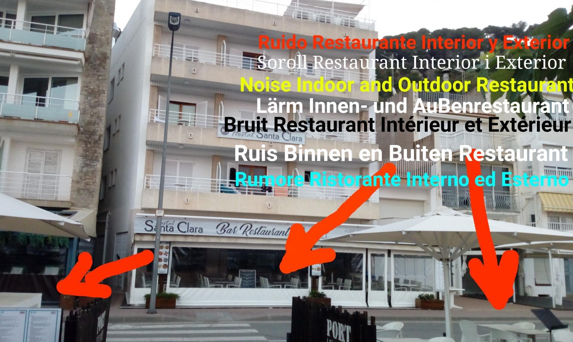 santa clara estartit hostal restaurante